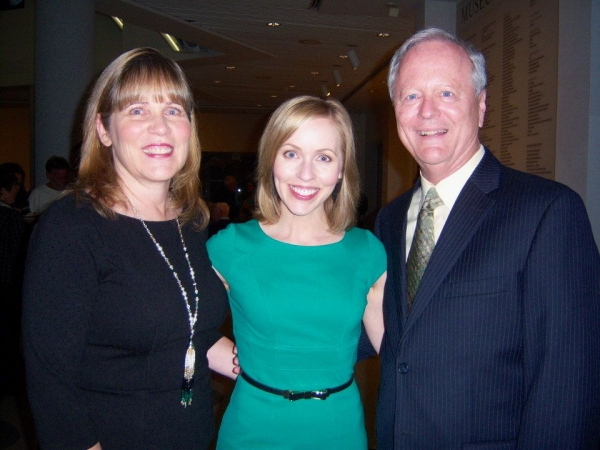 Erin Lewis, Jill Townsend, and Gary Lewis
